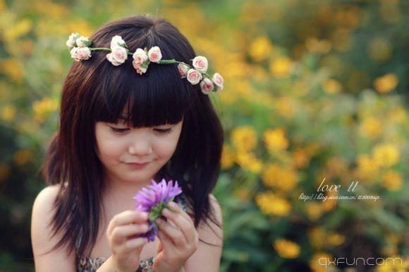 你的微笑,像春日里的阳光一样温暖