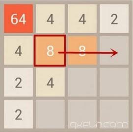 2048游戏技巧:怎么合并数字才不会死? - 清新范(Qxfun.com)