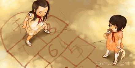 一段文字一幅插画,给你一瞬间的触动 -清新范(Qxfun.com)