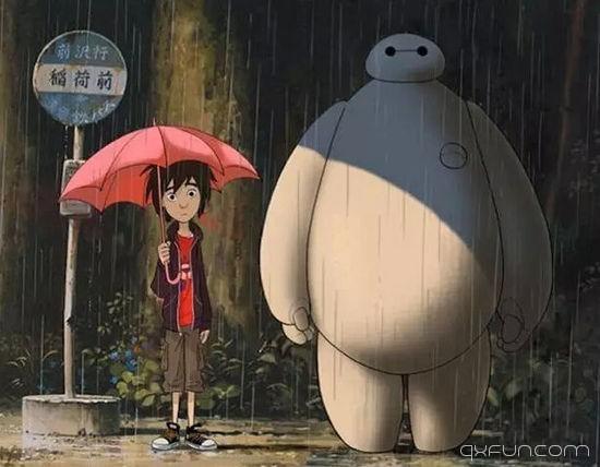 超能陆战队:生活中总有一个人,会像大白一样爱你!-清新范(Qxfun.com)