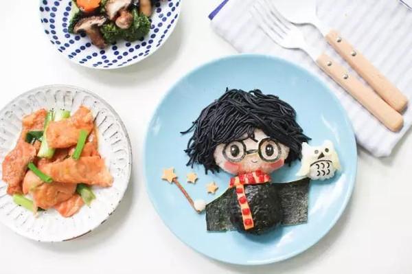 世上最温暖的,是妈妈做的饭之哈利波特午餐