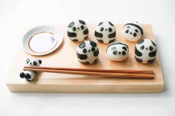 世上最温暖的,是妈妈做的饭之熊猫寿司