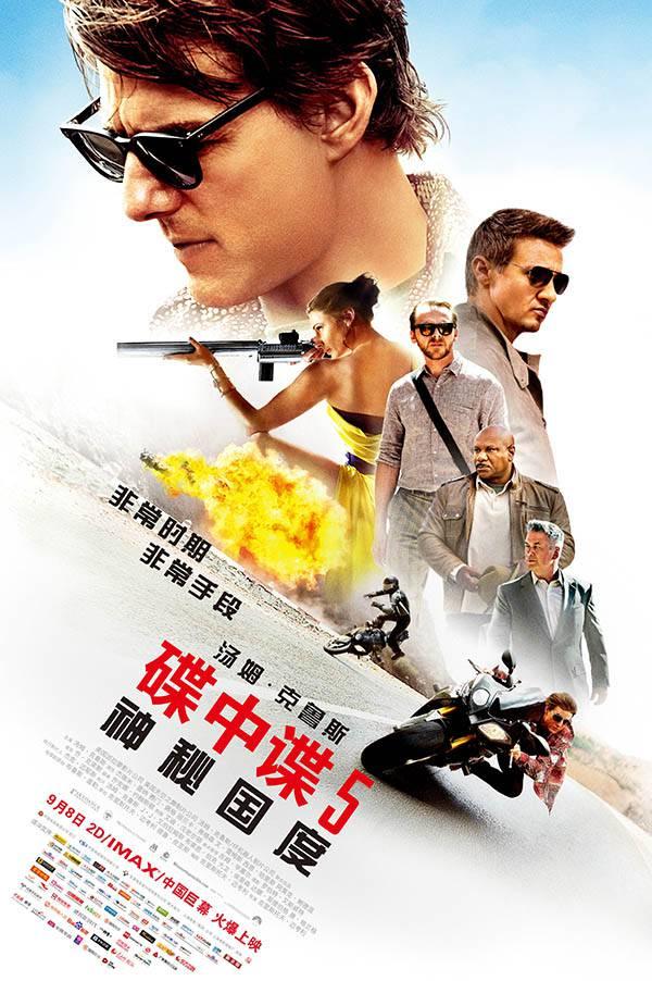 [碟中谍5:神秘国度.Mission Impossible  - Rogue Nation][多国音轨字幕][蓝光4K+1080P+2160P]