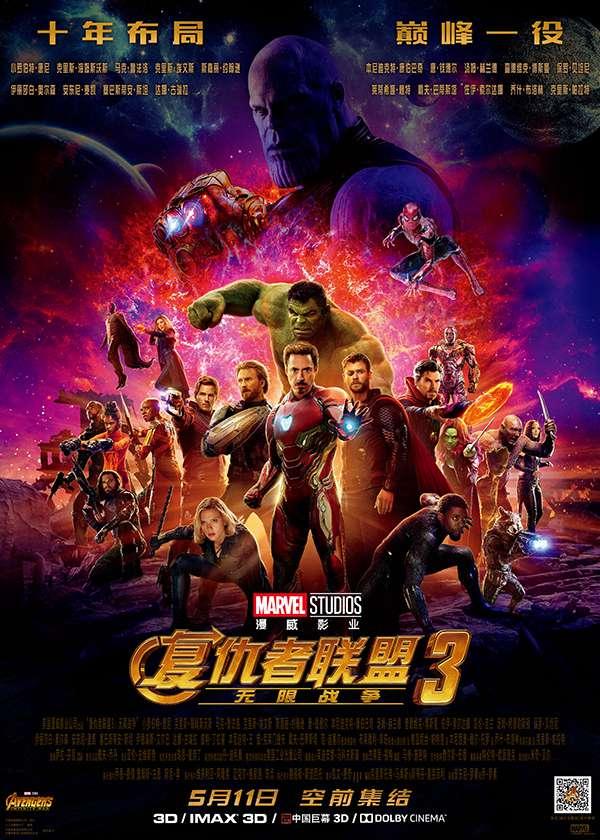 复仇者联盟3:无限战争 Avengers: Infinity War (2018)
