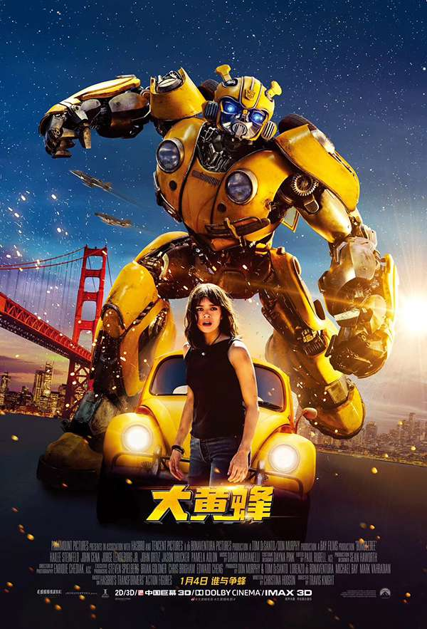 [大黄蜂.Bumblebee][英语中字]720P+1080P下载