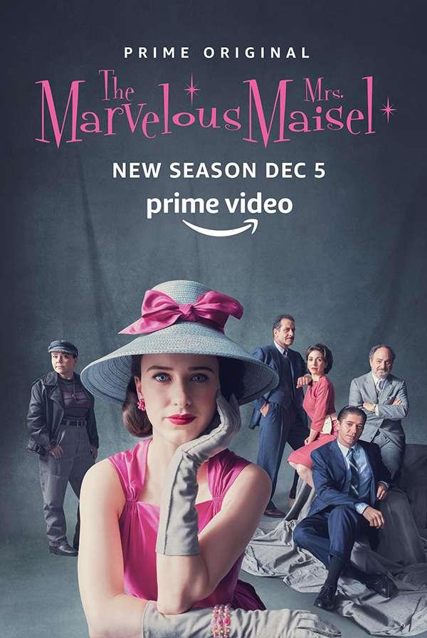 [了不起的麦瑟尔夫人 第二季.The Marvelous Mrs. Maisel Season 2][中英字幕][720P+1080P+2160P]