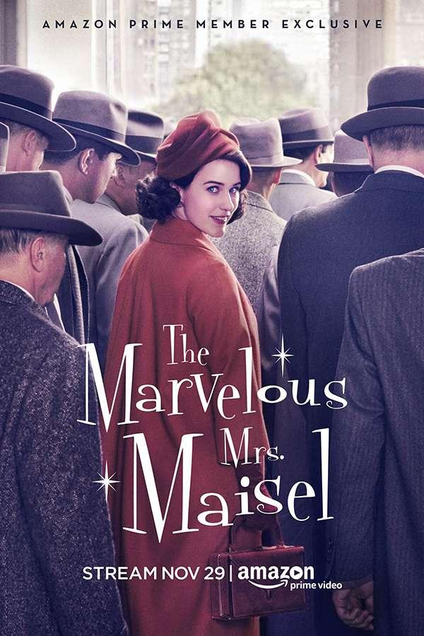 [了不起的麦瑟尔夫人 第一季.The Marvelous Mrs. Maisel Season 1][中英字幕][720P+1080P+2160P]