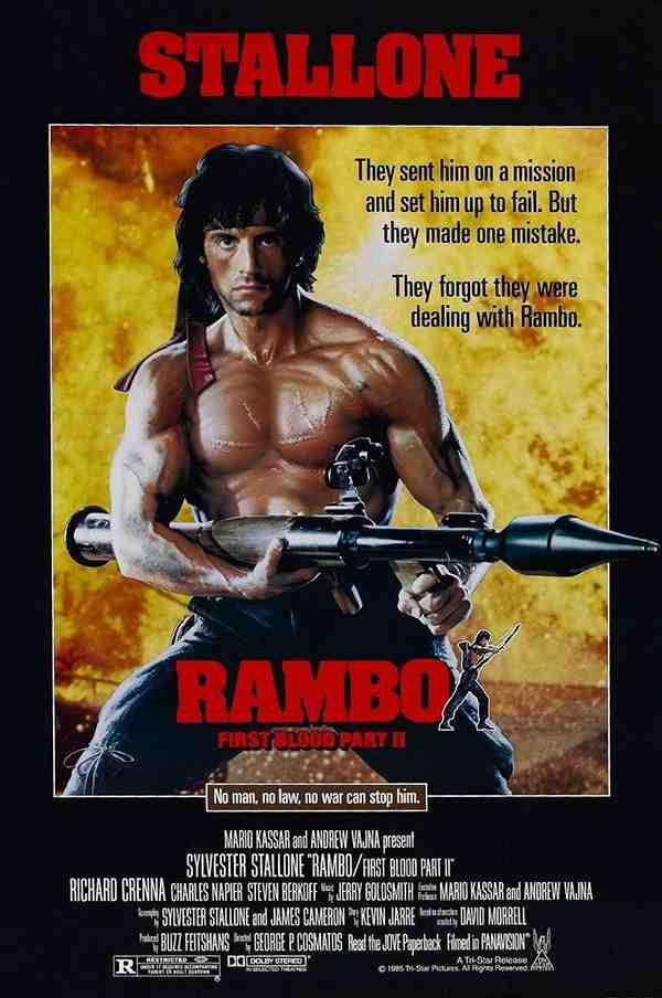 第一滴血2 Rambo: First Blood Part II (1985) [720P+1080P+2160P(4K)]