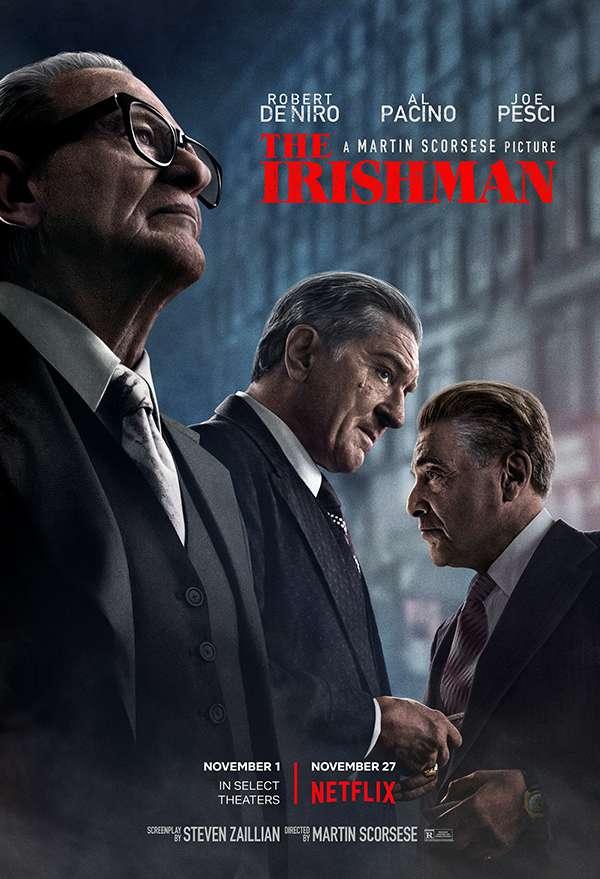 [特别推荐][Netflix电影][爱尔兰人.爱尔兰杀手.The Irishman][2019][英语音轨.中英双语字幕]720P+1080P+2160P百度云下载