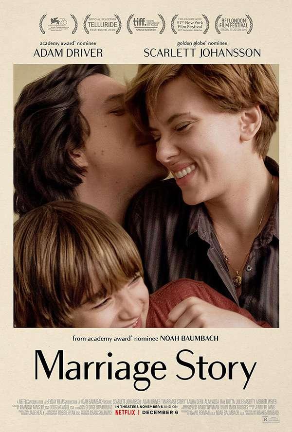 [特别推荐][婚姻故事.Marriage Story][2019][英语音轨.中英双语字幕]720P+1080P百度云下载