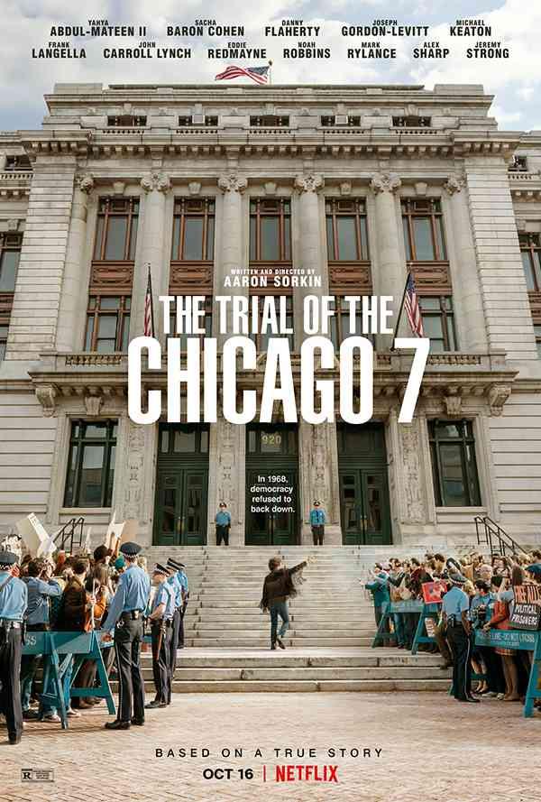 [真实事件改编电影][芝加哥七君子审判.芝加哥七人案:驚世審判.The Trial of the Chicago 7][2020][英语音轨.中英双语字幕]720P+1080P百度云下载