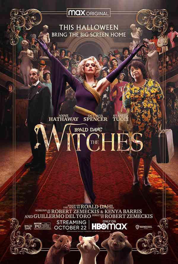 [奇幻喜剧电影][女巫.女巫再现.怪誕黑巫後.The Witches][2020][英语音轨.中英双语字幕]720P+1080P百度云下载