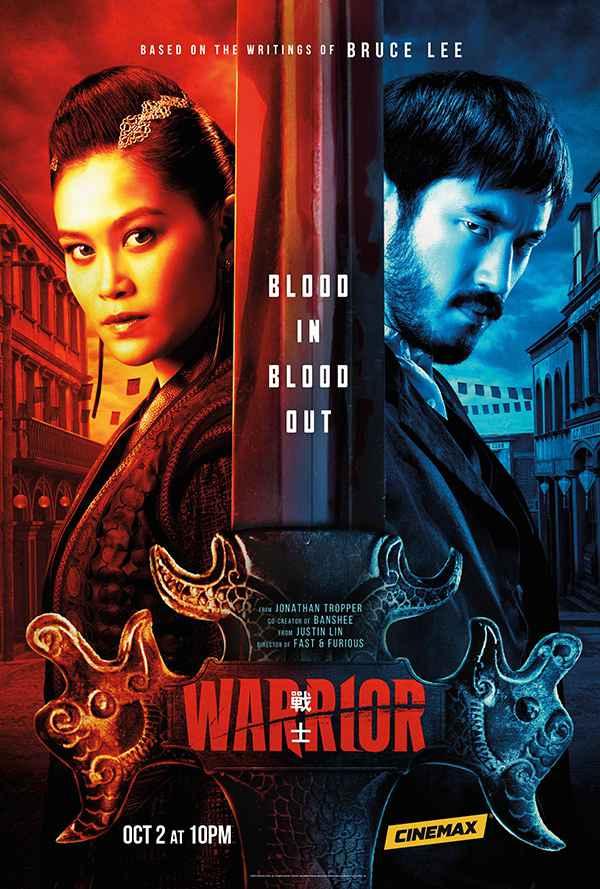 [美剧][战士.龙战士.Warrior][2020][第二季.全1-10集][英语音轨.中英双语字幕][蓝光版]720P+1080P百度云下载